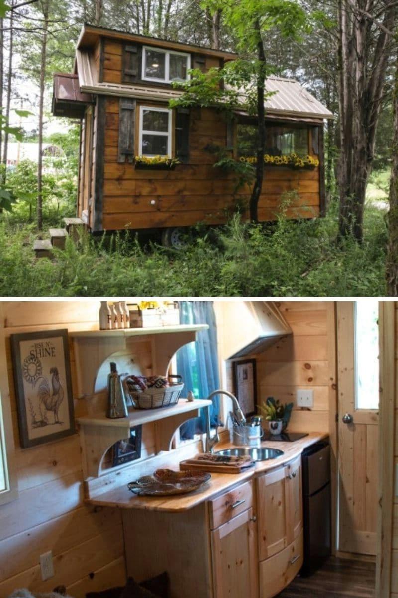 The Best Little Hen House: 128 ft.²