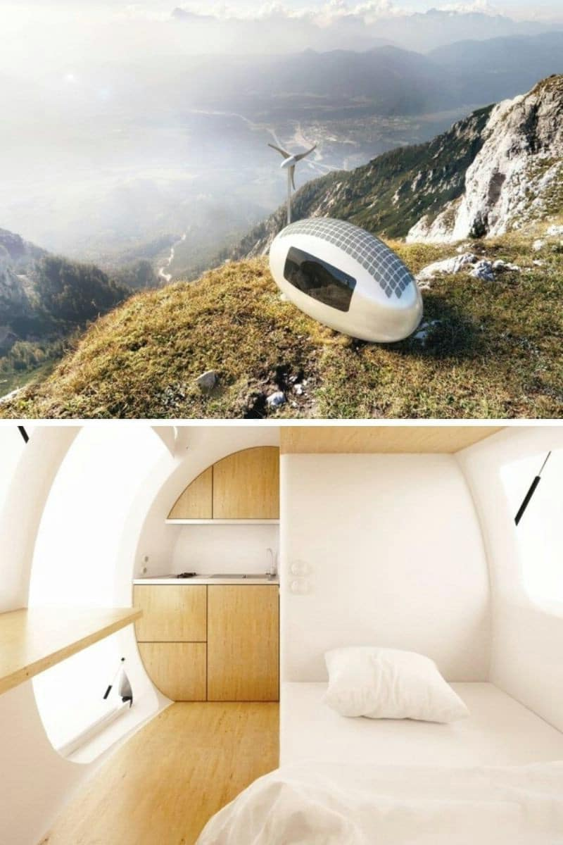 The Ecocapsule: 86 ft.²