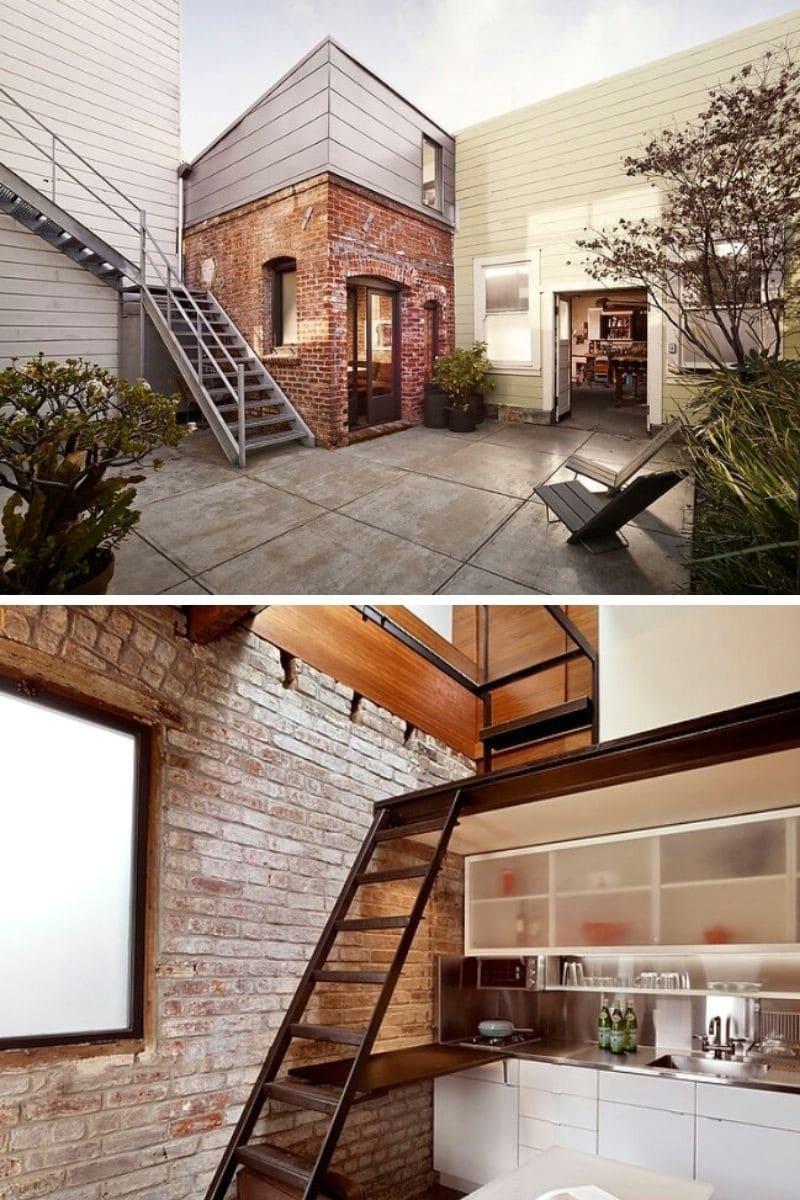 Brick House: 93 ft.²