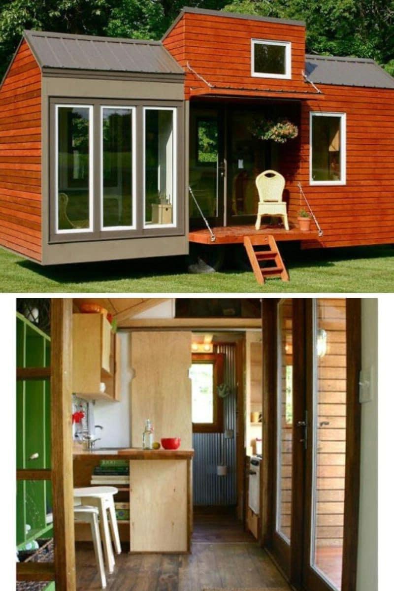 Tiny House Design Home: 130 ft.²