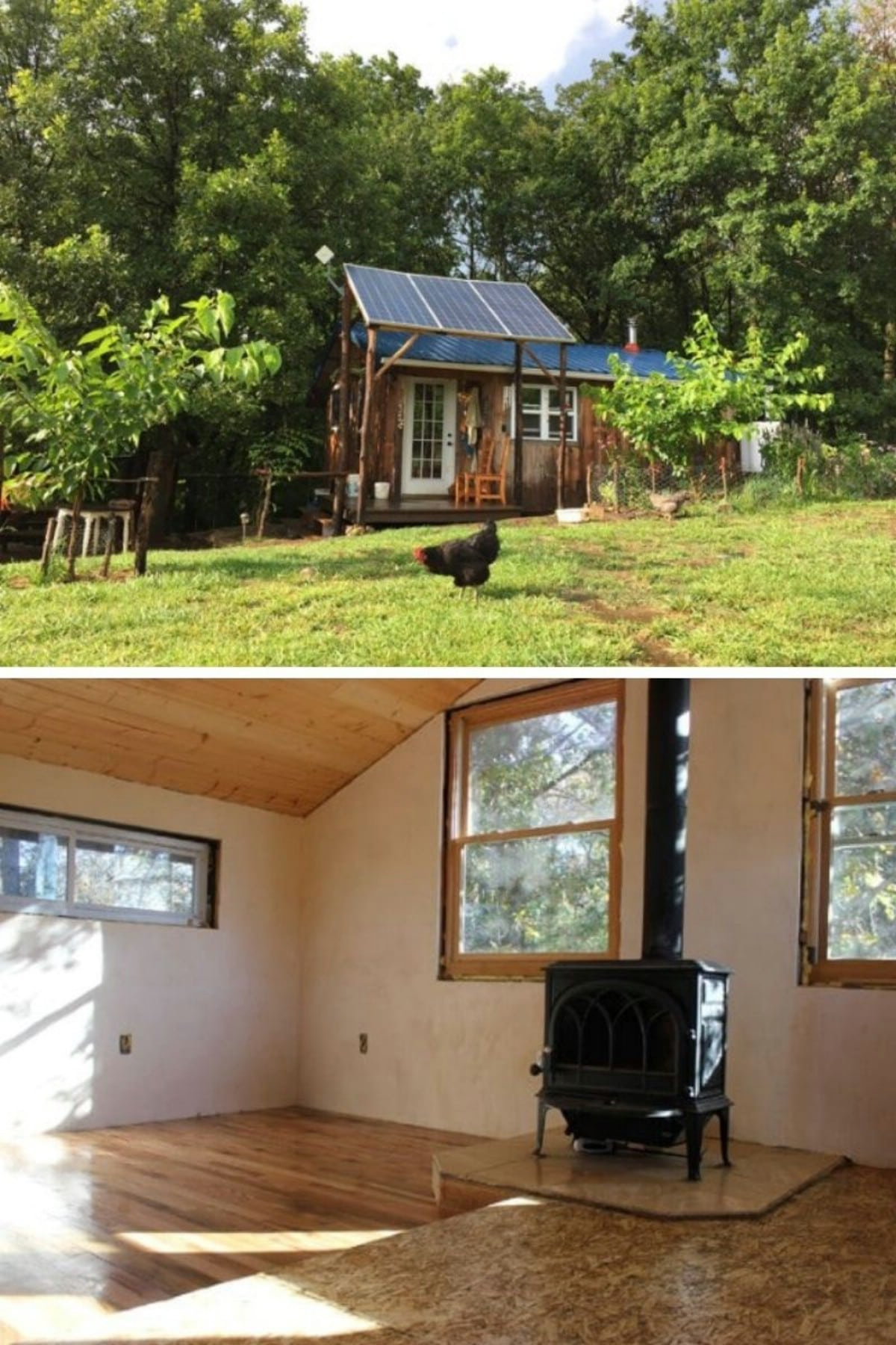 Brian And Teri's Off-The-Grid Tiny House