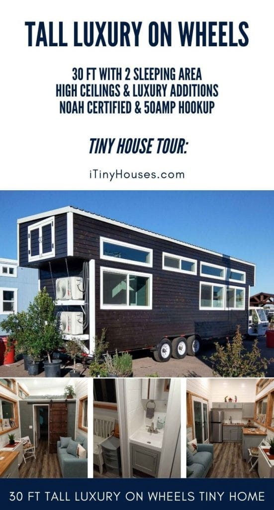 Tall tiny house collage
