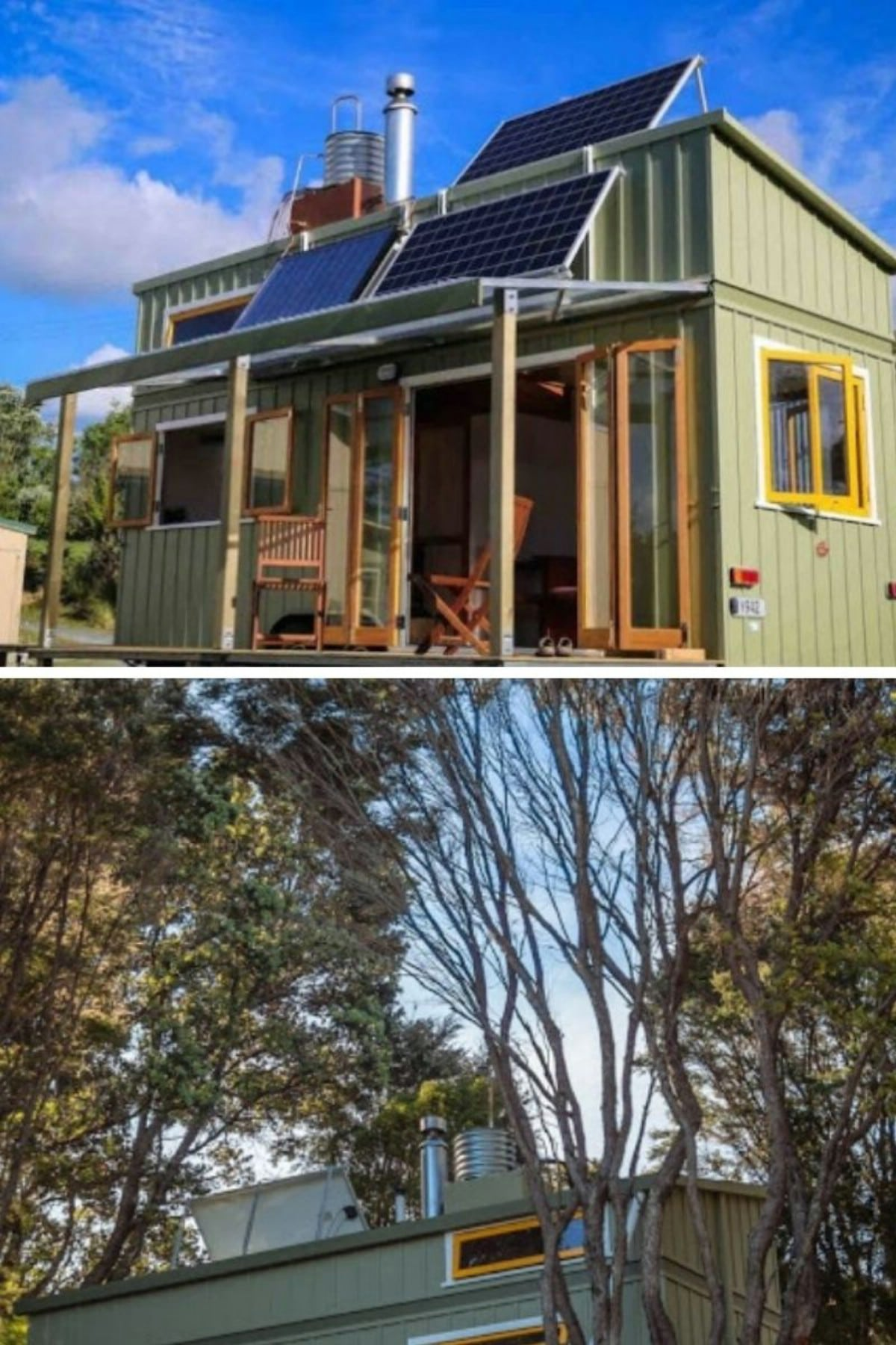 New Zealand Off-the-Grid Tiny House