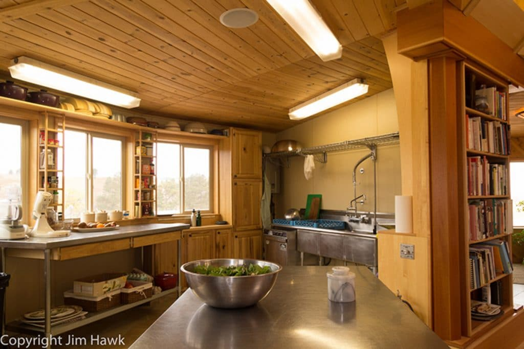 Yurt sink