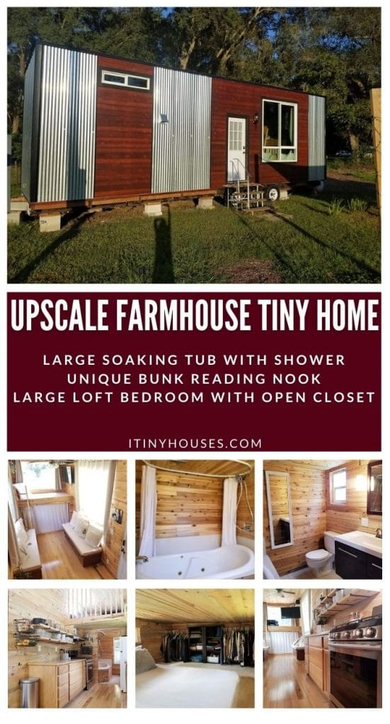 Corrugated tiny house collage