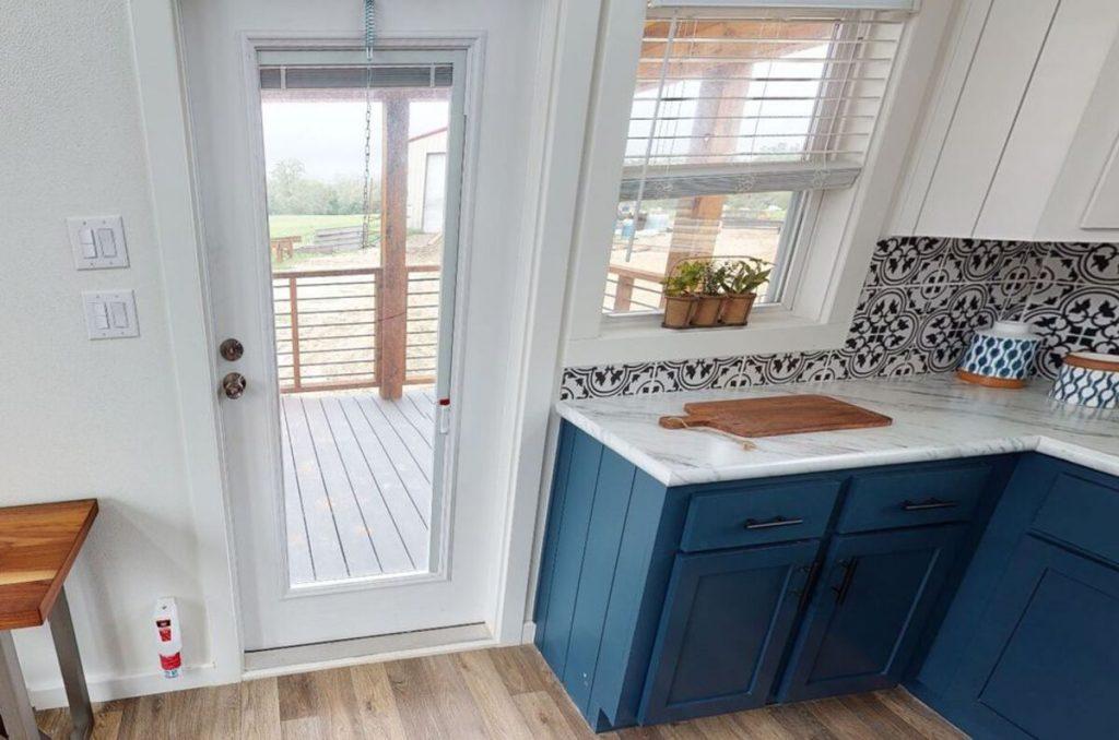 Door off kitchen