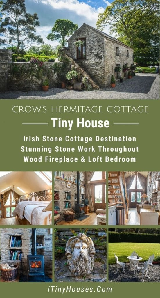 Crow's hermitage cottage collage