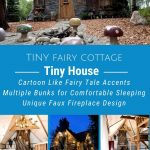 Fairy cottage collage