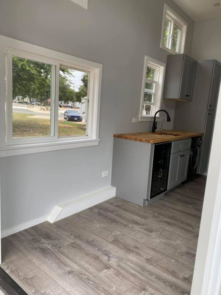 Tiny house window