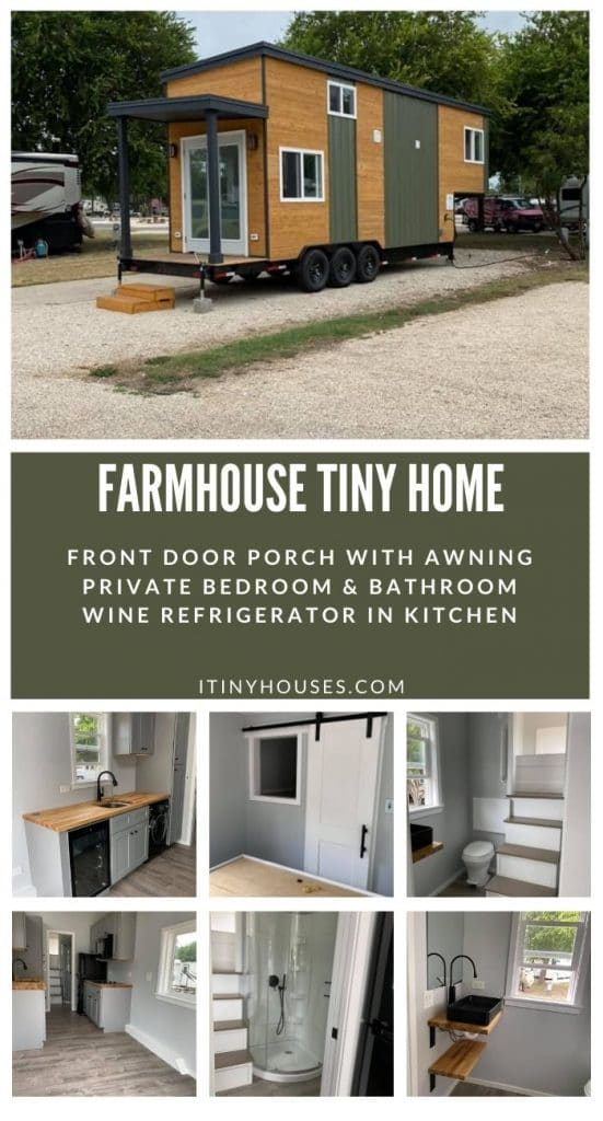 Farmhouse on wheels collage