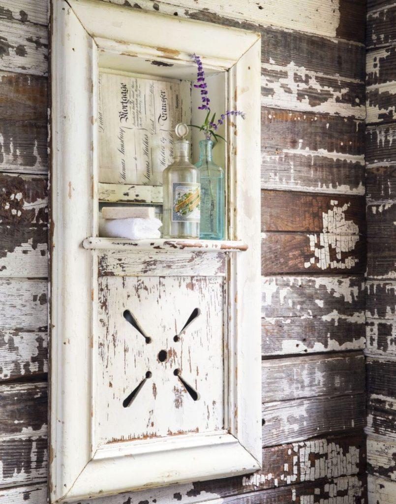 Bathroom vanity shutter