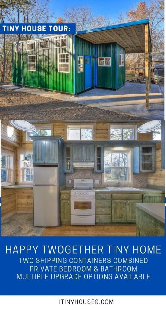 Happy twogether tiny house collage