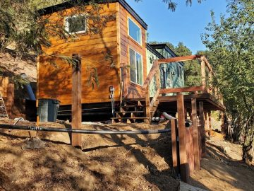 Mountainside retreat tiny house