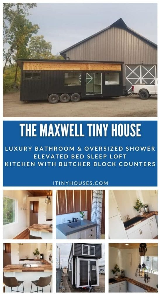 Maxwell tiny house collage