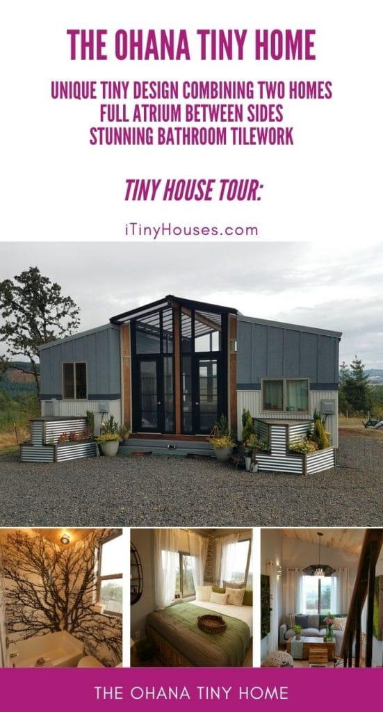 The Ohana tiny home collage