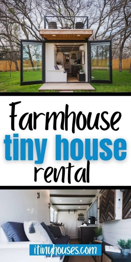 Tiny farmhouse collage