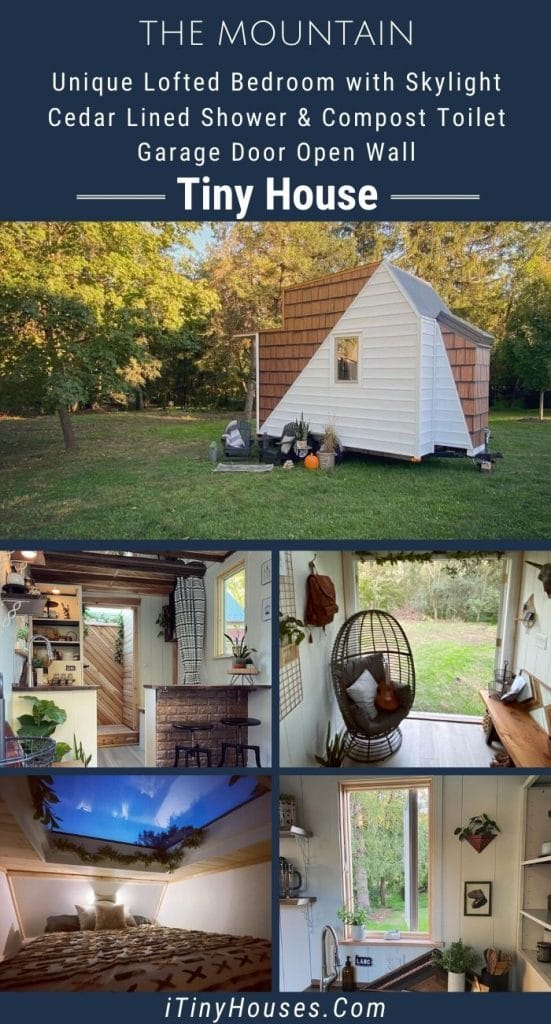 The Mountain tiny home collage