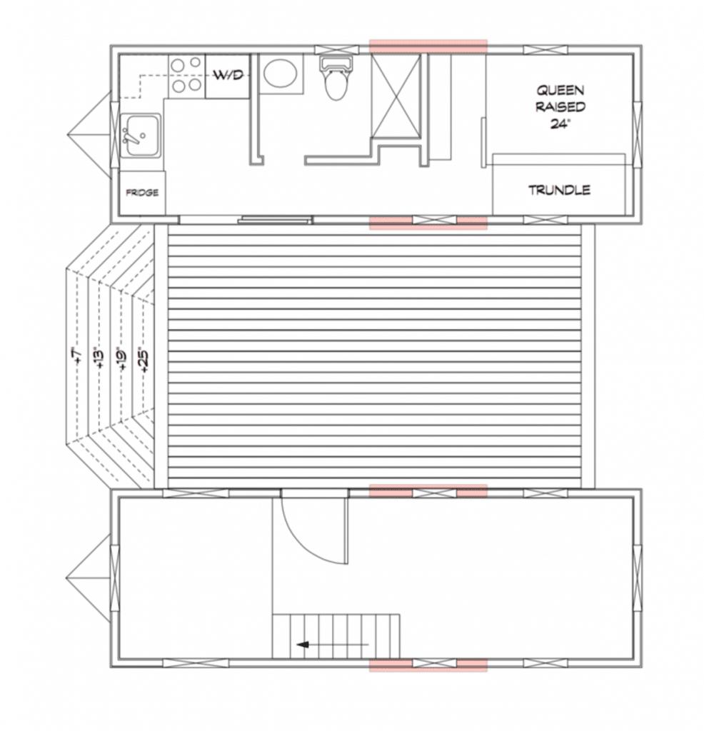 The Ohana duplex plans blueprint