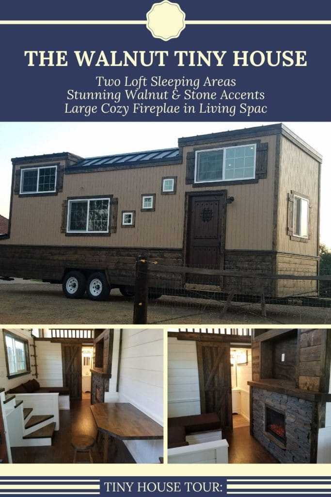 The Walnut tiny house collage