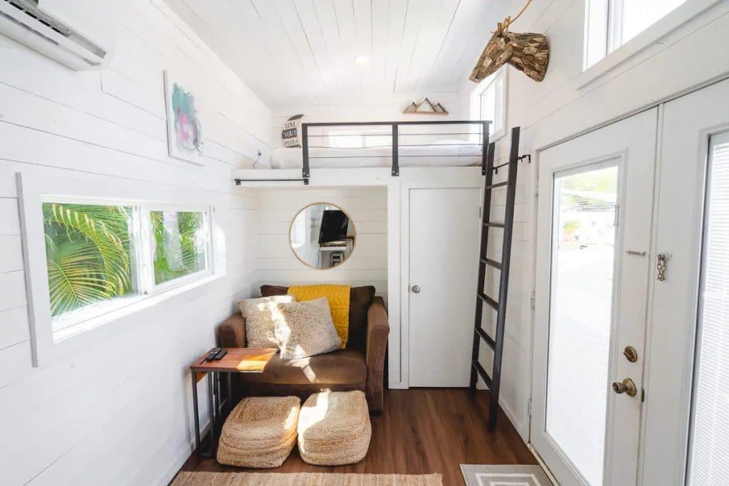 Loft above front door