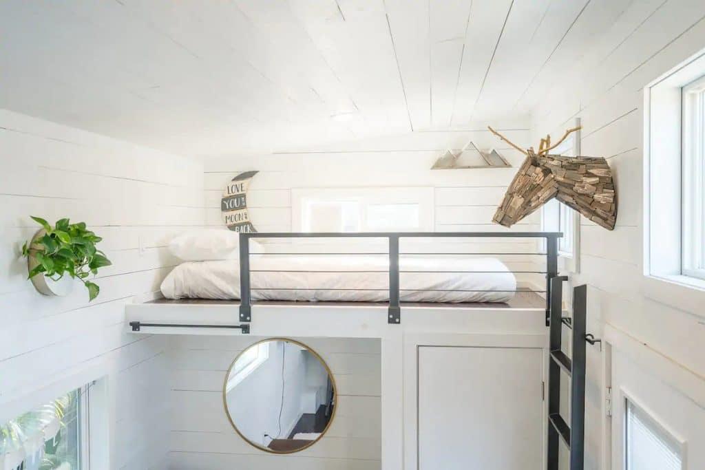 Railing by loft