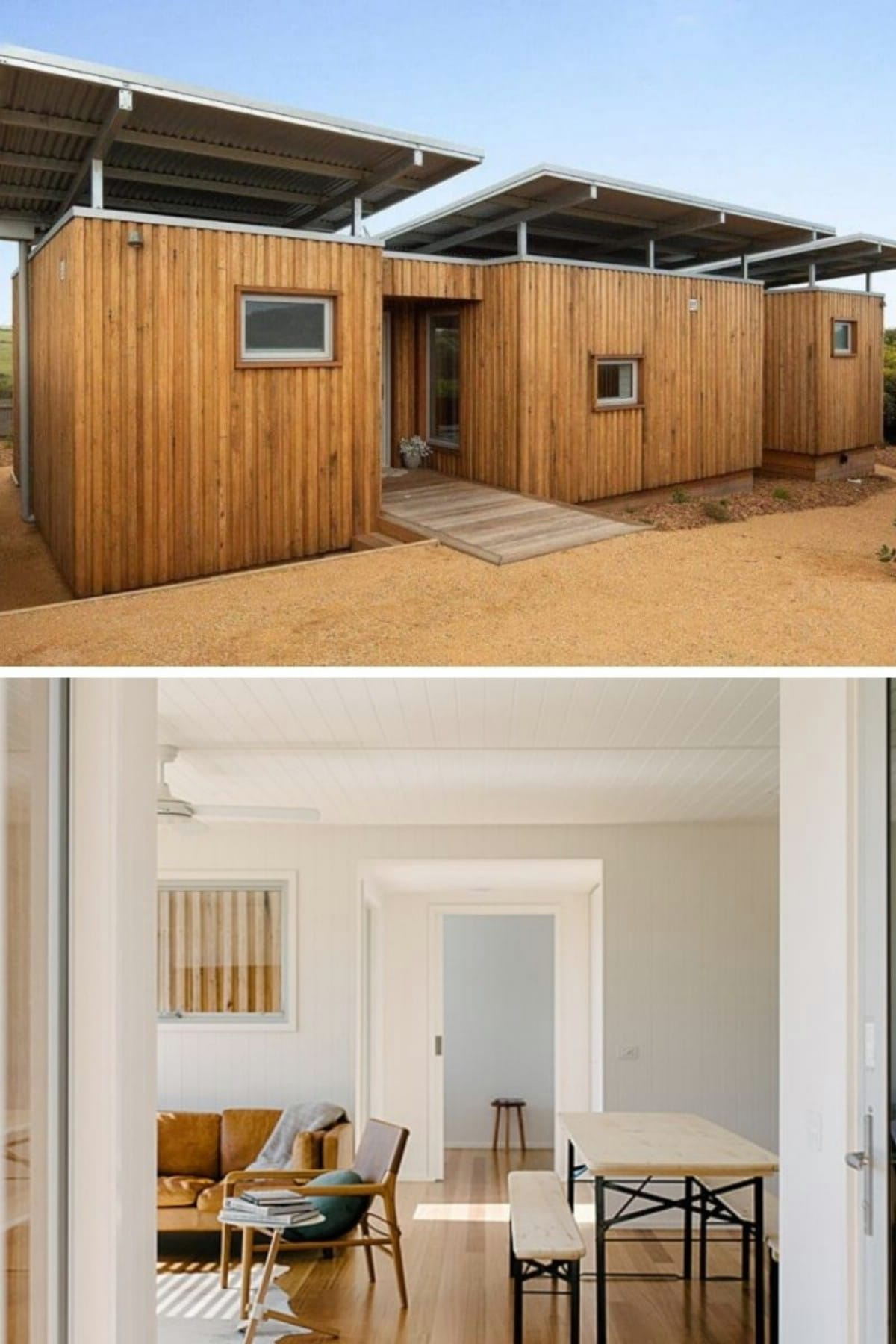Tiny Modern Shipping Container Farmhouse