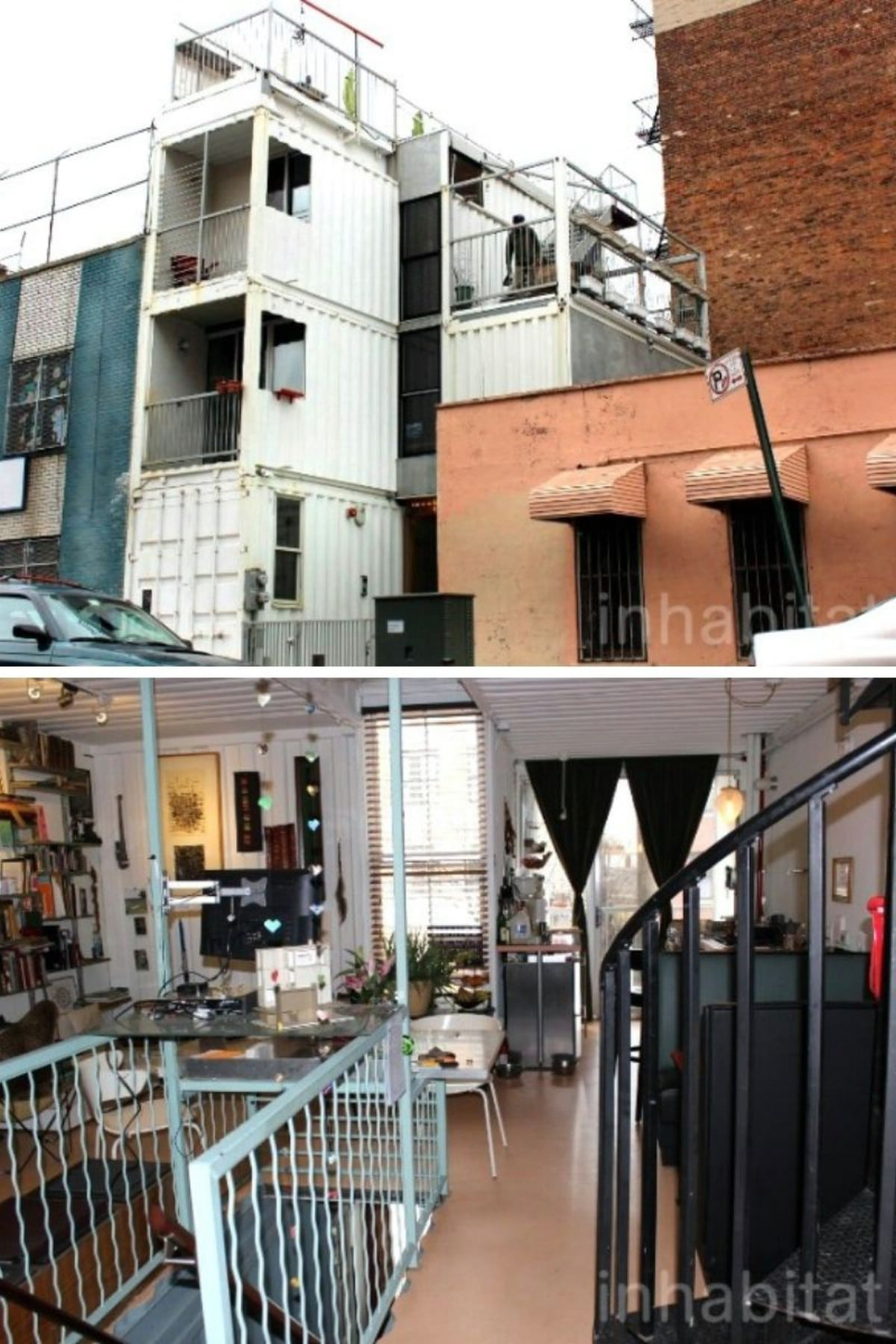 Downtown NYC Shipping Container Apartment