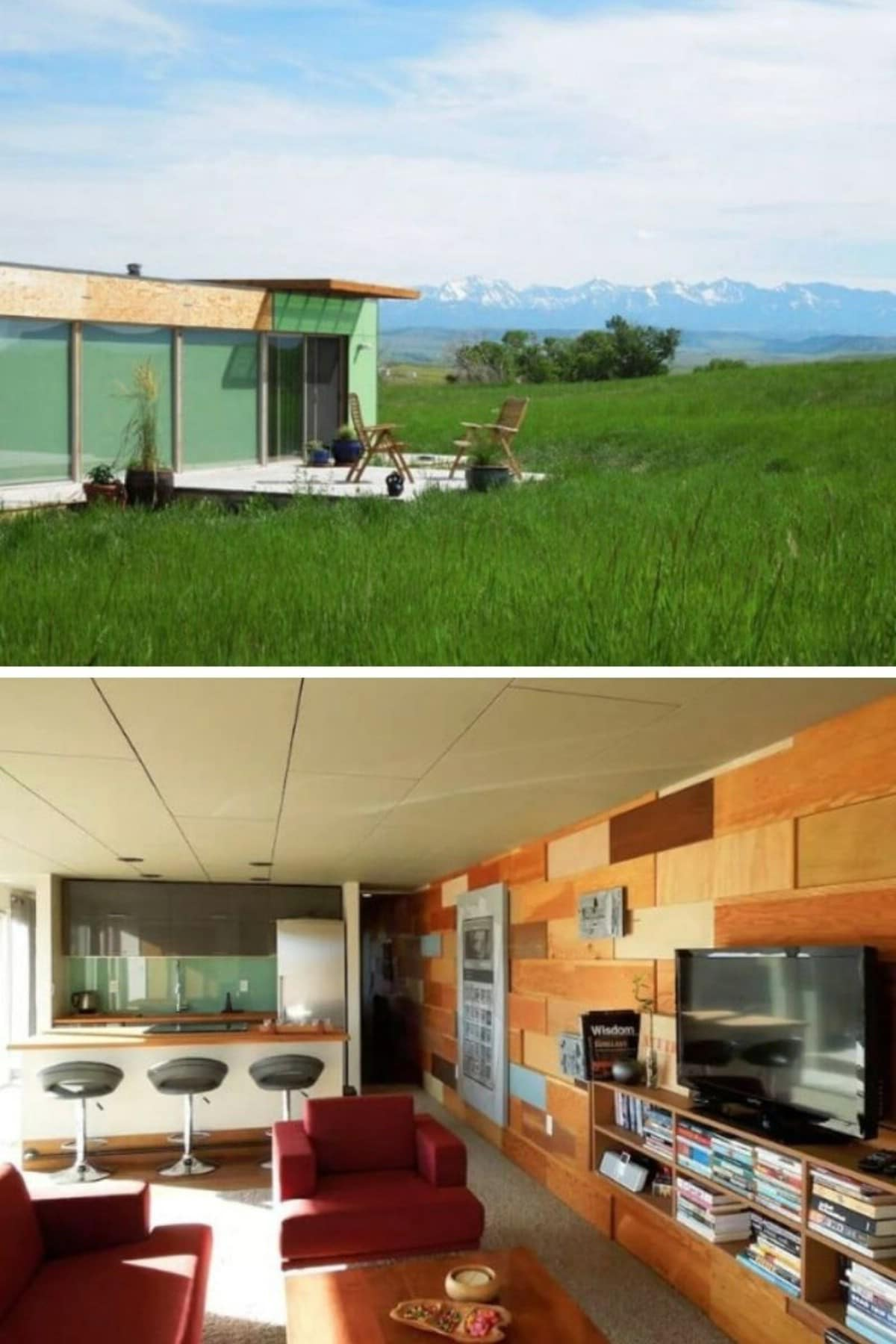 Montana 700-Square-Foot Container Home