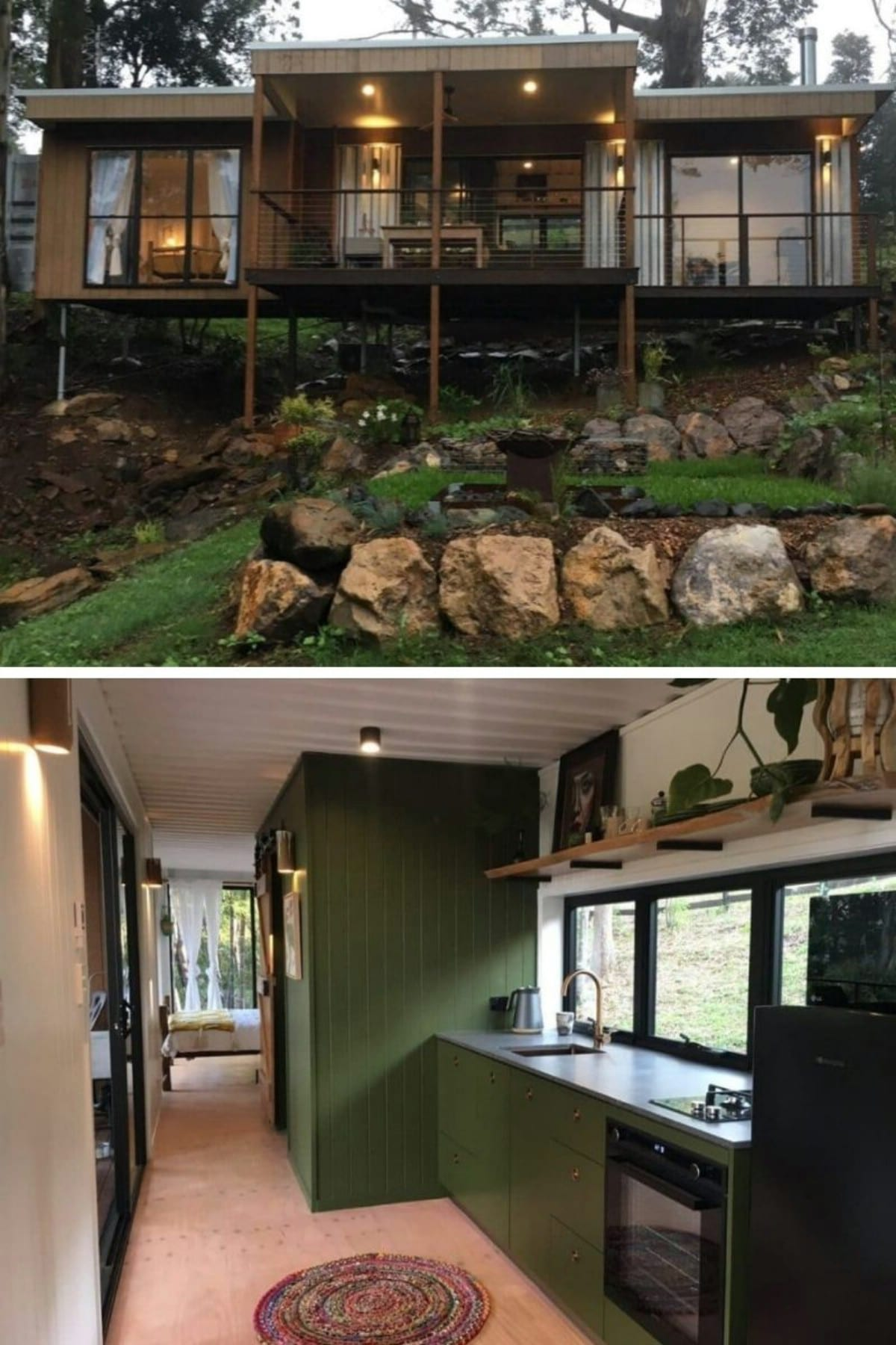 Australian Outback Shipping Container Home