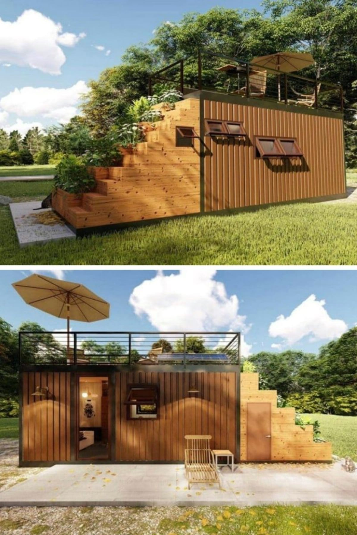 Rooftop Garden Tiny House