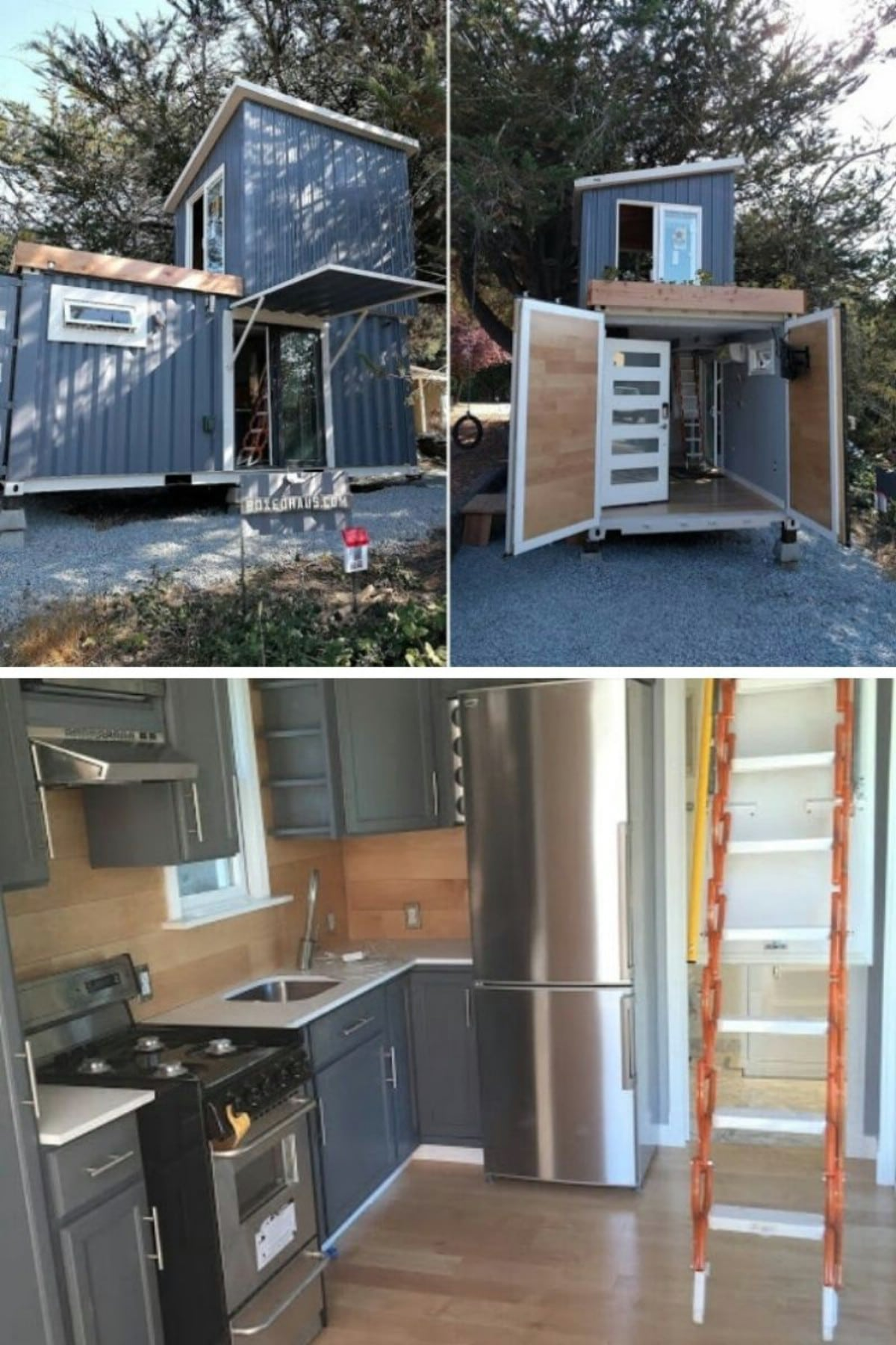 Custom Container Living Tiny House