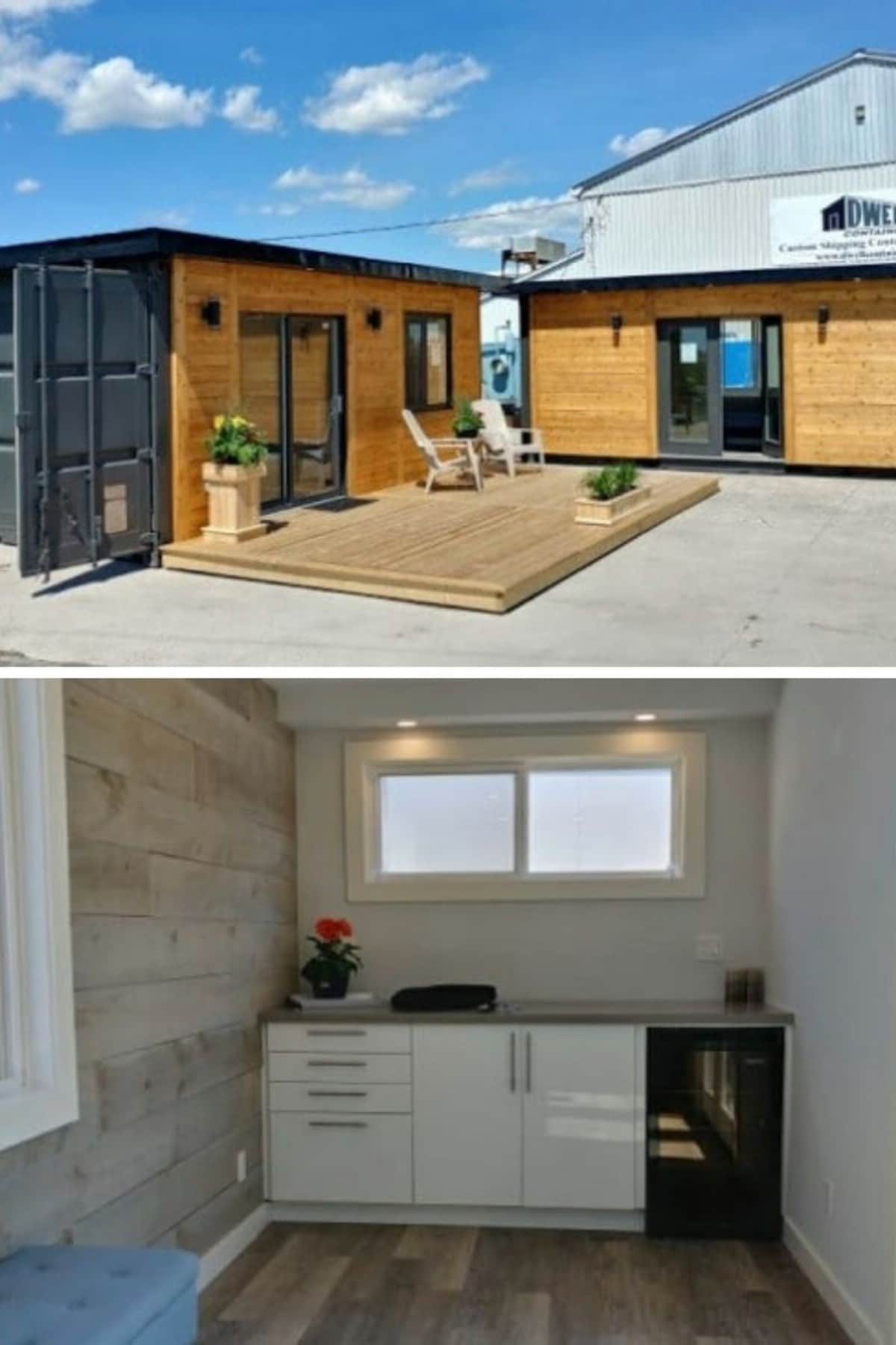 Dwell Containers Home