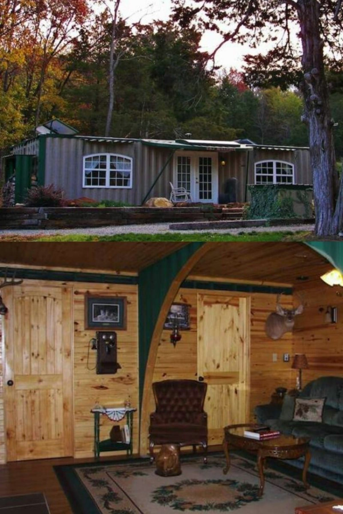 Off-the-Grid Container Retreat