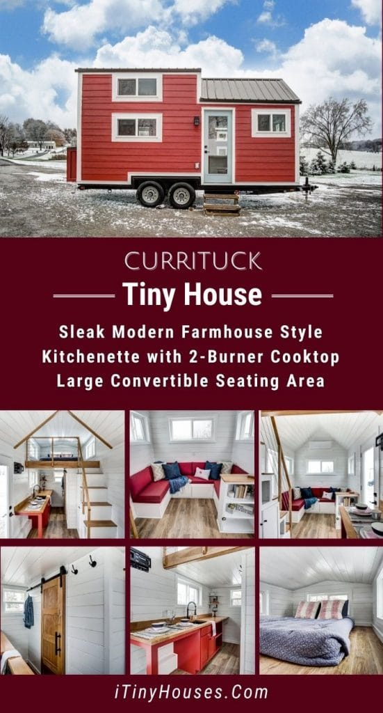 Currituck tiny house collage