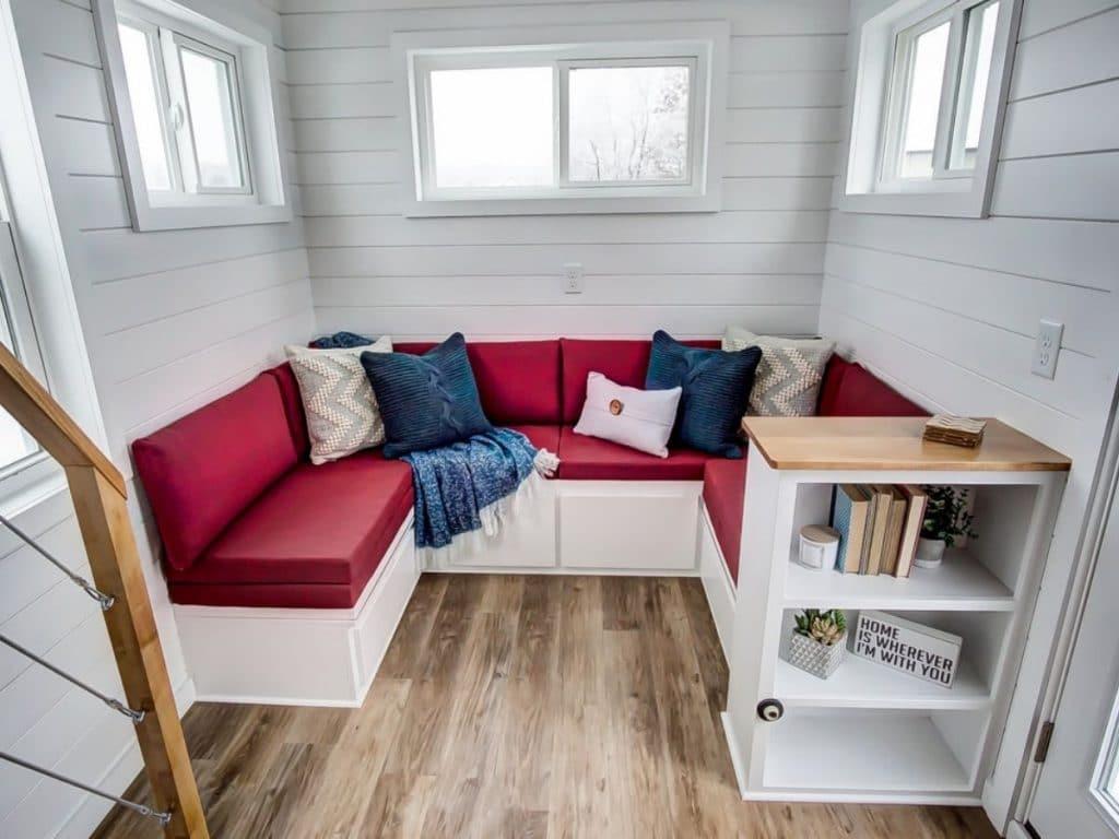 Storage seating area