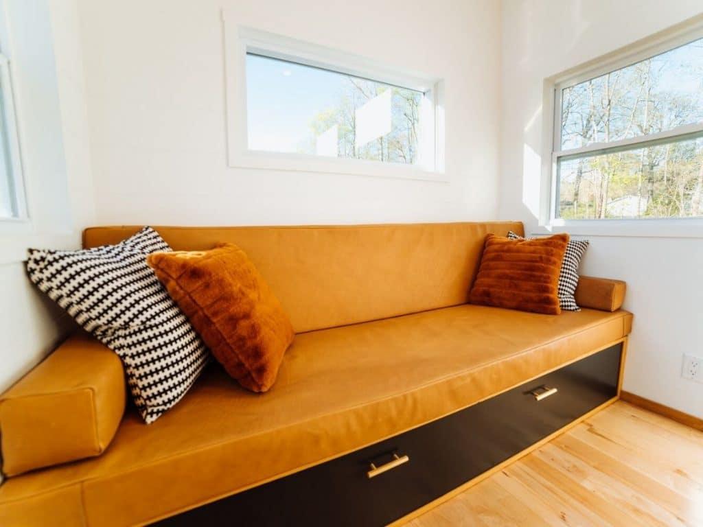Tiny house sleeper sofa