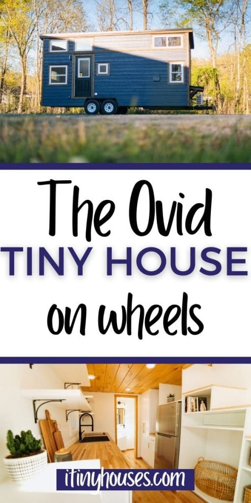 The Ovid tiny house collage