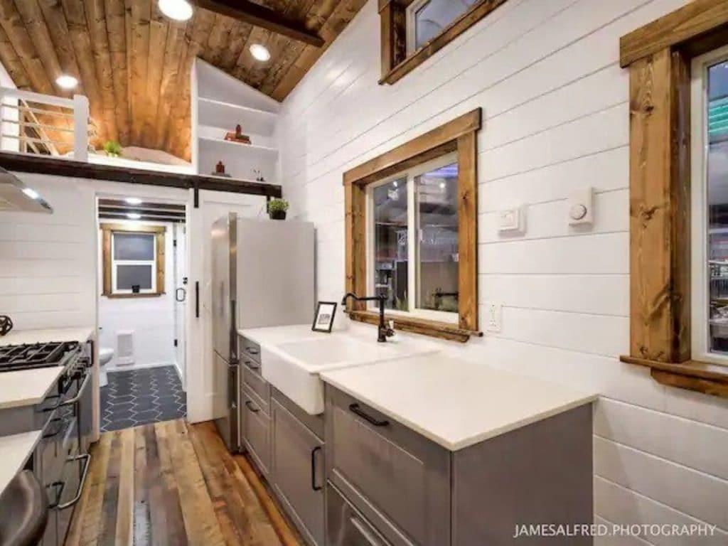 Tiny home kitchen sink