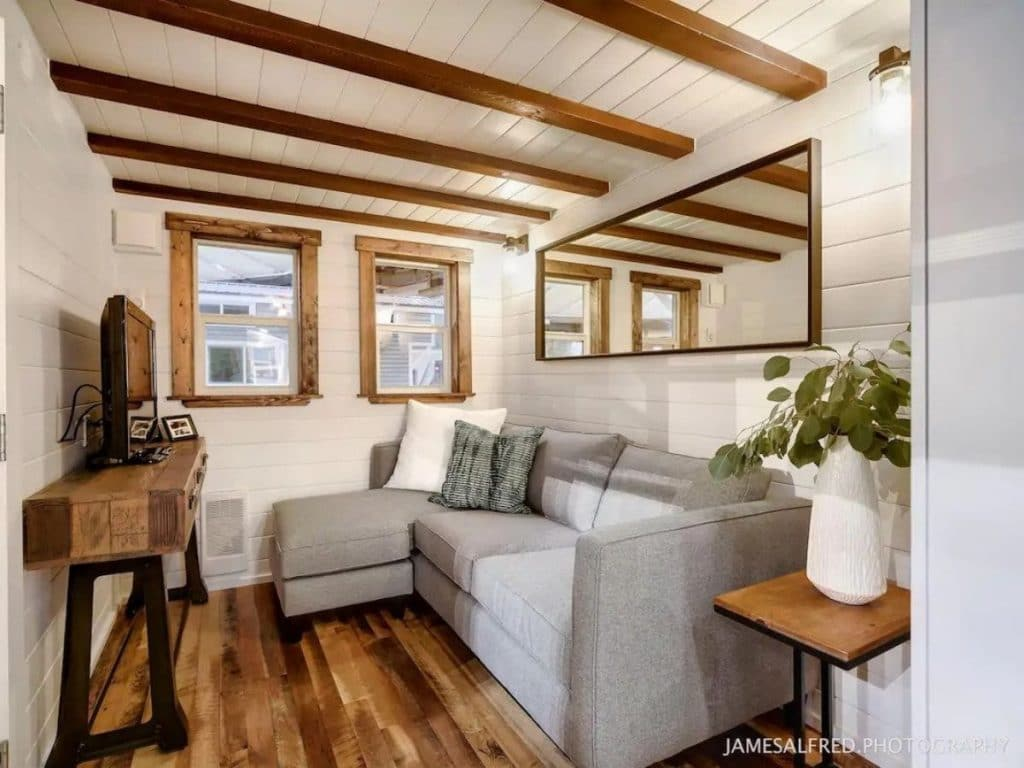 Living space in tiny home