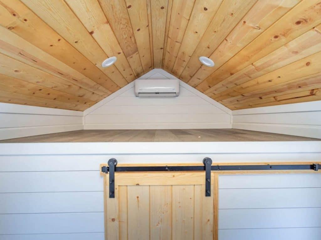 Loft above bedroom