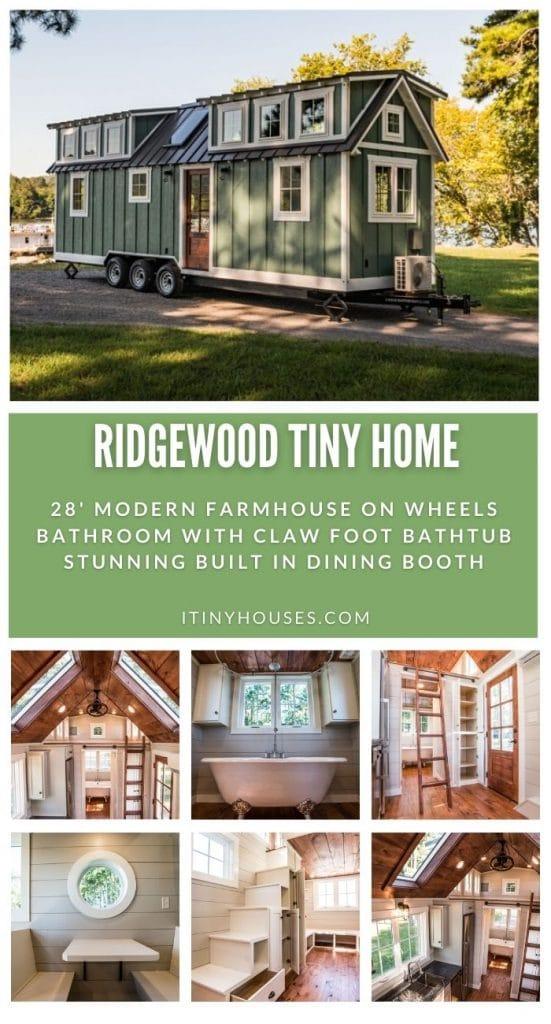 Ridgewood tiny house collage