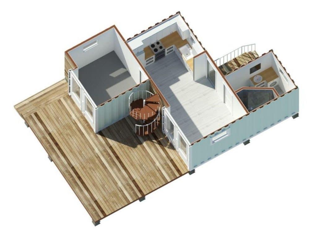 The ranch floor plan