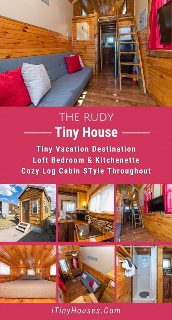 The Randy tiny house collage