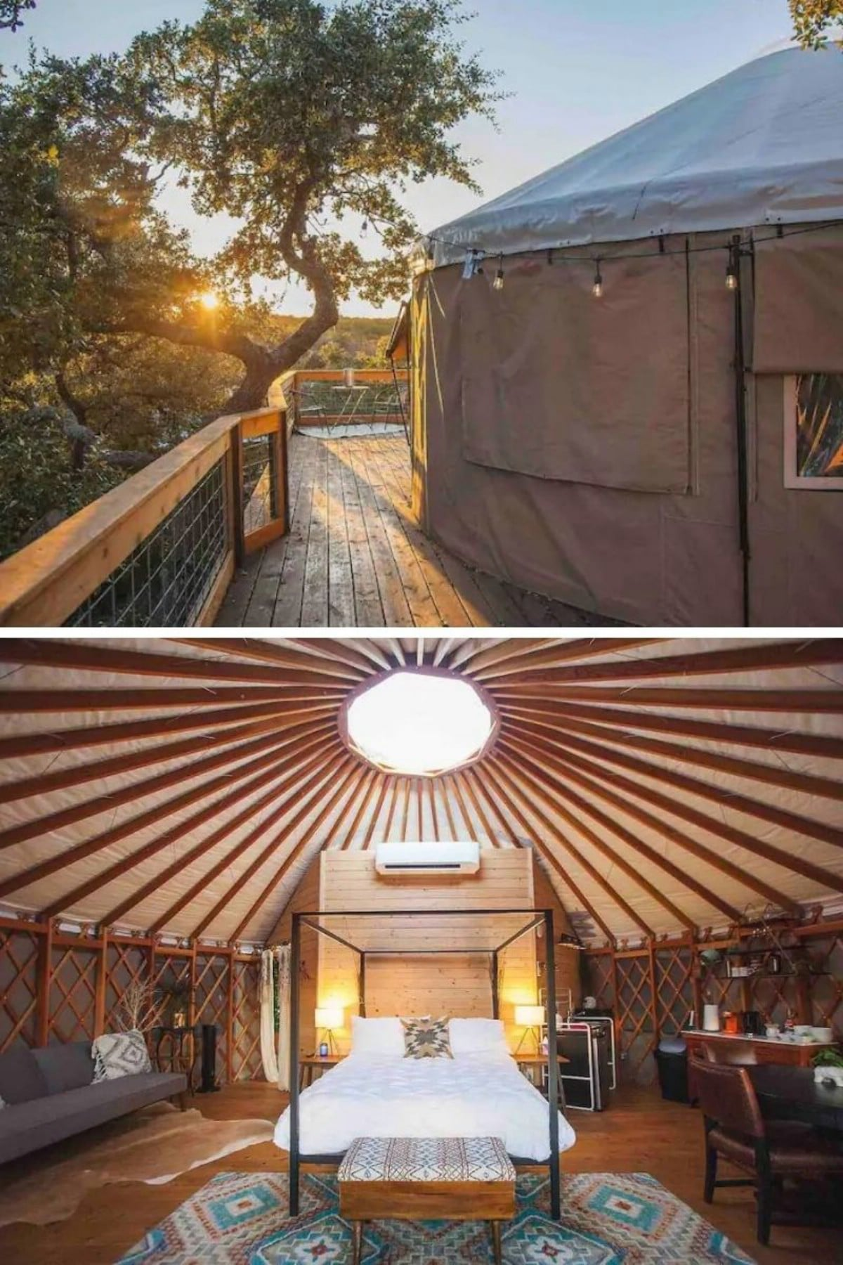 Yurt in the Trees – Dripping Springs, TX