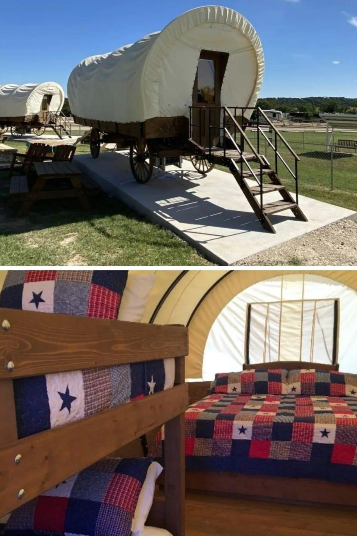 Conestoga Wagons – Fredericksburg, TX