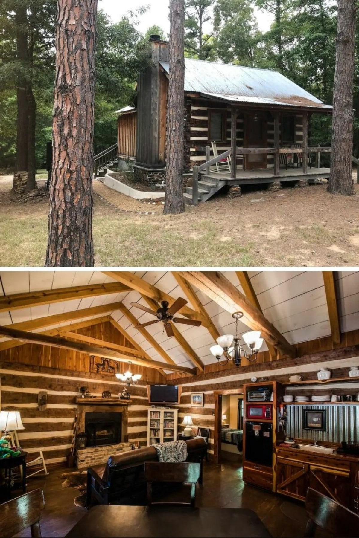 Coyote Creek Cabin – Lindale, TX