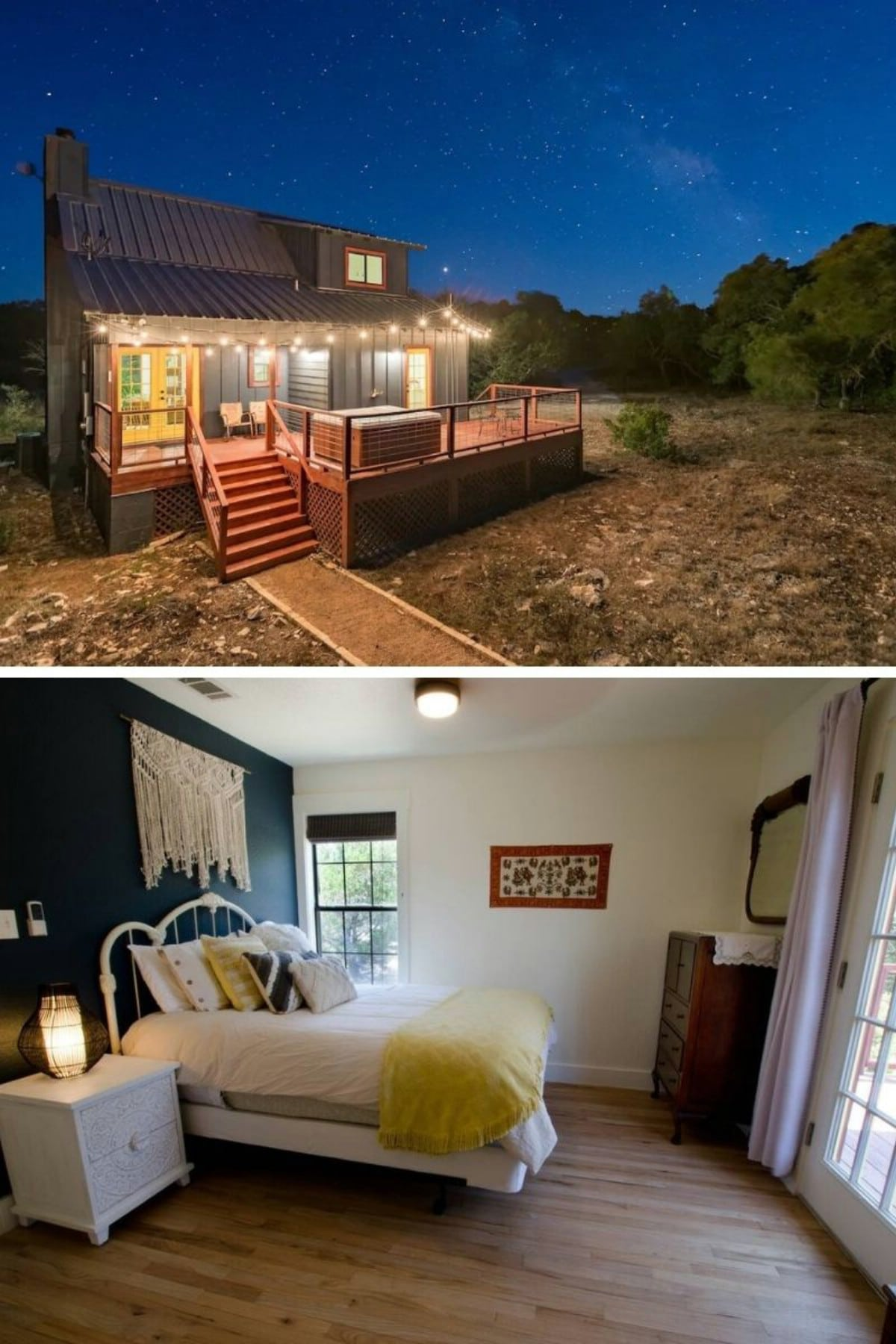 Adorable Cabin on 10 Private Acres With a Hot Tub – Wimberley, TX
