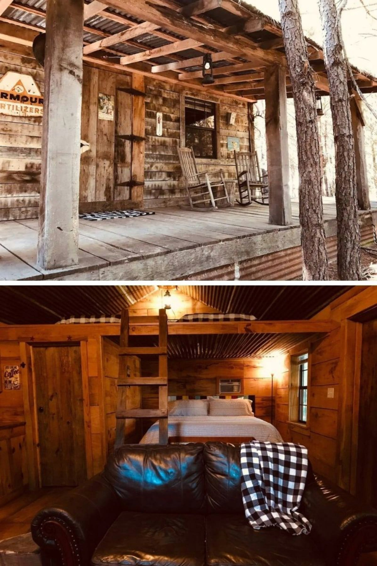 Cozy Cabin in the Woods at Bluegill Lake Cabins – Eustace, TX