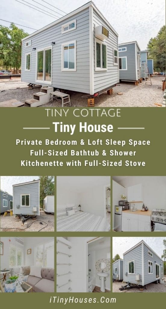 Tiny cottage collage