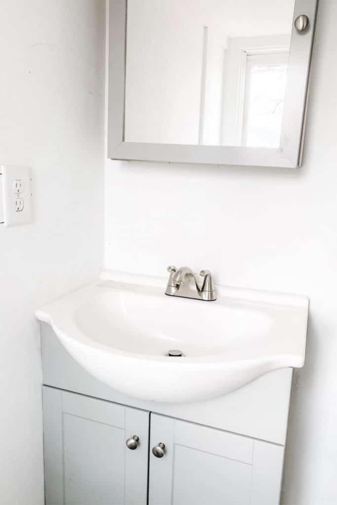Tiny house vanity